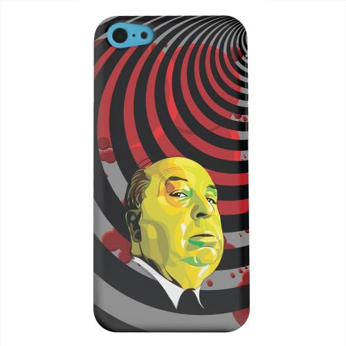 Geeks Designer Line (GDL) Apple iPhone 5C Matte Hard Back Cover - Hitchcock Vertigo