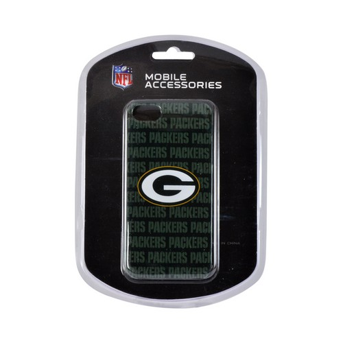 Apple iPhone SE / 5 / 5S Hard Case, NFL Licensed [Green Bay Packers]  Slim & Protective Crystal Glossy Snap-on Hard Polycarbonate Plastic Case Cover