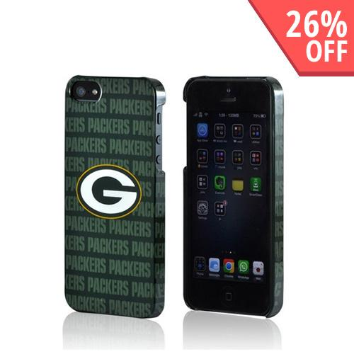 Green Bay Packers Hard Case for Apple iPhone 5/5S - NFL Licensed