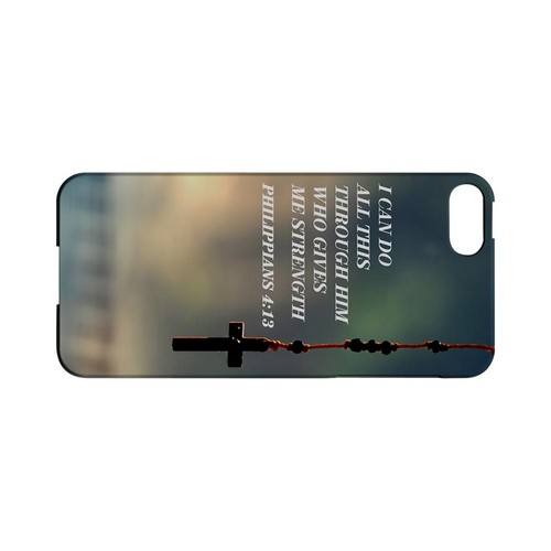 Philippians 4:13 - Geeks Designer Line (GDL) Bible Verse Series Hard Back Cover for Apple iPhone 5/5S