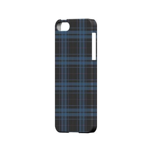 Blue/ Gray/ Pink Plaid - Geeks Designer Line Checker Series Hard Case for Apple iPhone 5/5S