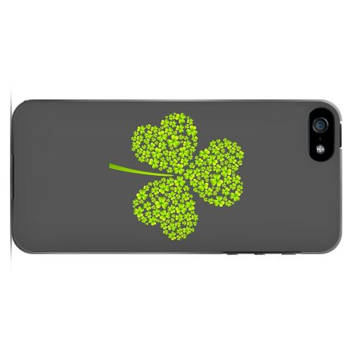 Clover Burst - Geeks Designer Line Holiday Series Hard Case for Apple iPhone 5/5S