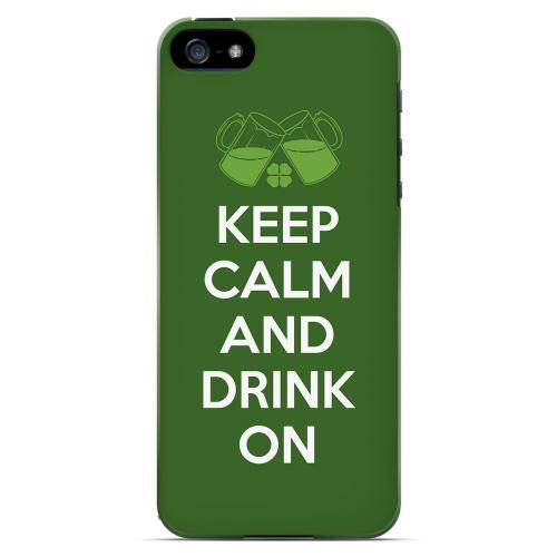 Drink On - Geeks Designer Line Holiday Series Hard Case for Apple iPhone 5/5S