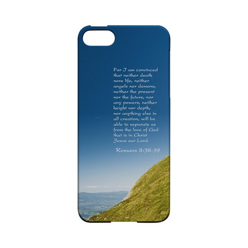 Romans 8:38-39 - Geeks Designer Line (GDL) Bible Verse Series Hard Back Cover for Apple iPhone 5/5S