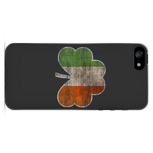 Irish Clover Flag - Geeks Designer Line Holiday Series Hard Case for Apple iPhone 5/5S