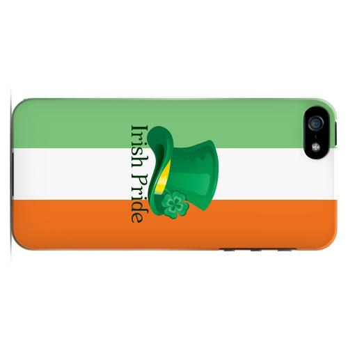 Irish Pride - Geeks Designer Line Holiday Series Hard Case for Apple iPhone 5/5S