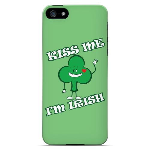 Kiss Me - Geeks Designer Line Holiday Series Hard Case for Apple iPhone 5/5S