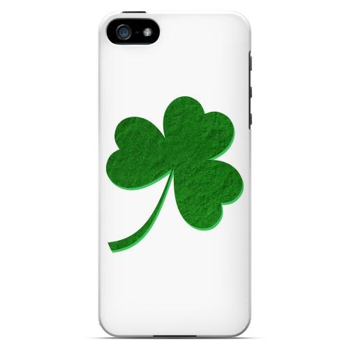 Simple Clover - Geeks Designer Line Holiday Series Hard Case for Apple iPhone 5/5S