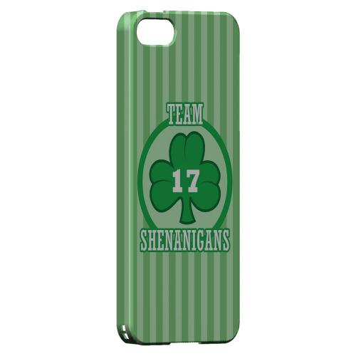 Team Shenanigans - Geeks Designer Line Holiday Series Hard Case for Apple iPhone 5/5S