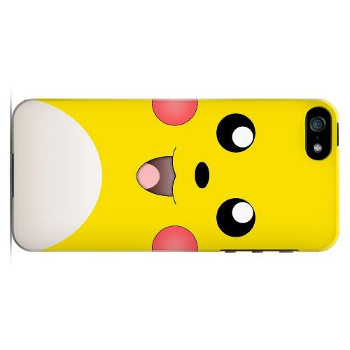 Bunnichu - Geeks Designer Line Toon Series Hard Case for Apple iPhone 5/5S