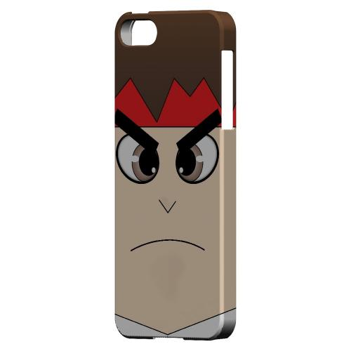Hadoryu - Geeks Designer Line Toon Series Hard Case for Apple iPhone 5/5S