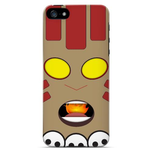 Yogayoga - Geeks Designer Line Toon Series Hard Case for Apple iPhone 5/5S