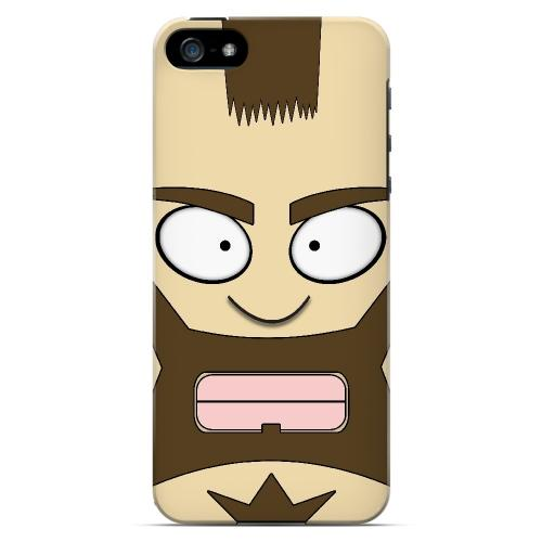 Zman - Geeks Designer Line Toon Series Hard Case for Apple iPhone 5/5S