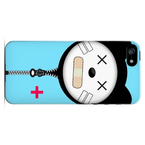 Calamikitty - Geeks Designer Line Hoodie Kitty Series Hard Case for Apple iPhone 5/5S