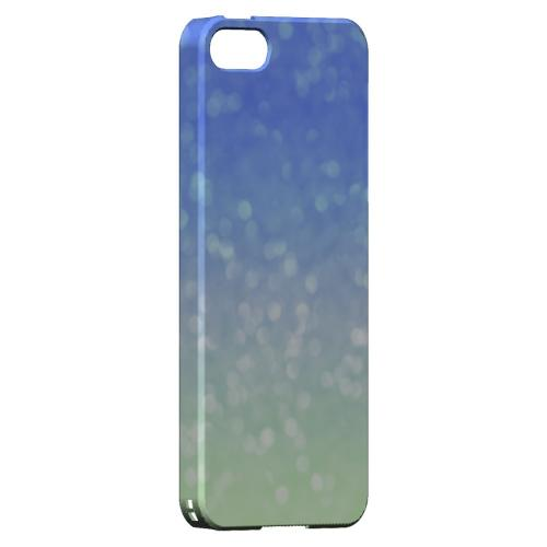 Menthe Blue - Geeks Designer Line Ombre Series Hard Case for Apple iPhone 5/5S