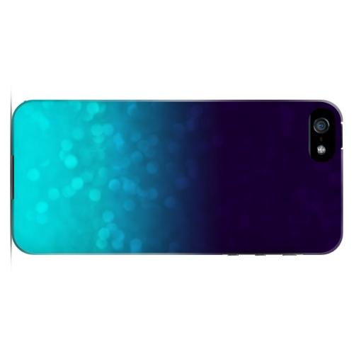 Sparkling Sea - Geeks Designer Line Ombre Series Hard Case for Apple iPhone 5/5S