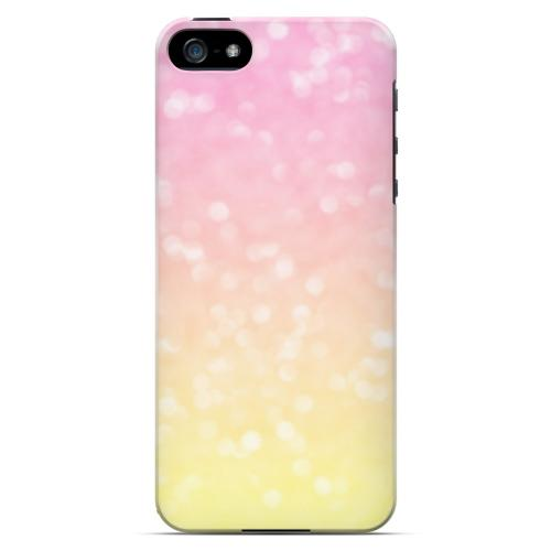Bubble Gum Squeeze - Geeks Designer Line Ombre Series Hard Case for Apple iPhone 5/5S