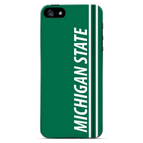Michigan State - Geeks Designer Line March Madness Series Hard Case for Apple iPhone 5/5S