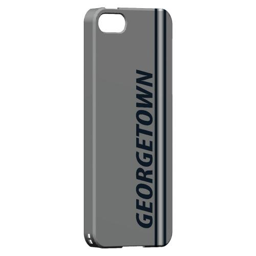 Georgetown - Geeks Designer Line March Madness Series Hard Case for Apple iPhone 5/5S