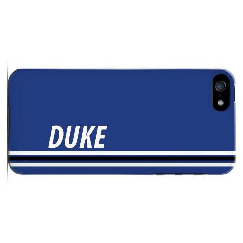 Duke - Geeks Designer Line March Madness Series Hard Case for Apple iPhone 5/5S