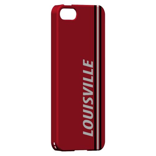 Louisville - Geeks Designer Line March Madness Series Hard Case for Apple iPhone 5/5S