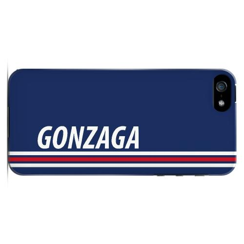 Gonzaga - Geeks Designer Line March Madness Series Hard Case for Apple iPhone 5/5S