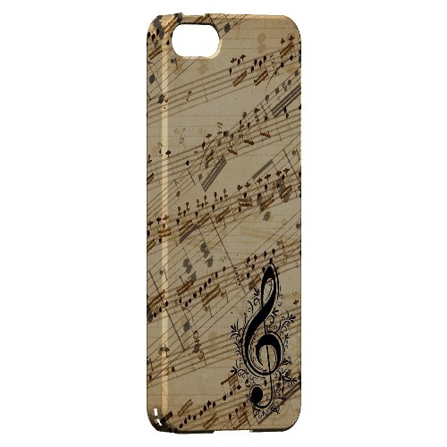 Allegro Grunge - Geeks Designer Line Music Series Hard Case for Apple iPhone 5/5S