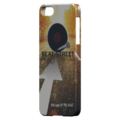 Beatstreet - Geeks Designer Line Music Series Hard Case for Apple iPhone 5/5S