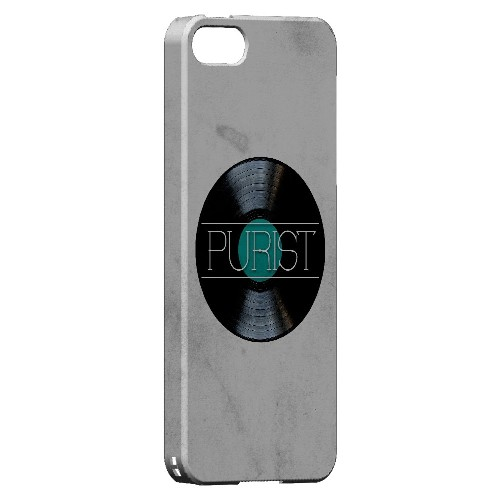 Purist - Geeks Designer Line Music Series Hard Case for Apple iPhone 5/5S