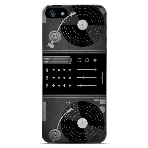 Turntabliss - Geeks Designer Line Music Series Hard Case for Apple iPhone 5/5S