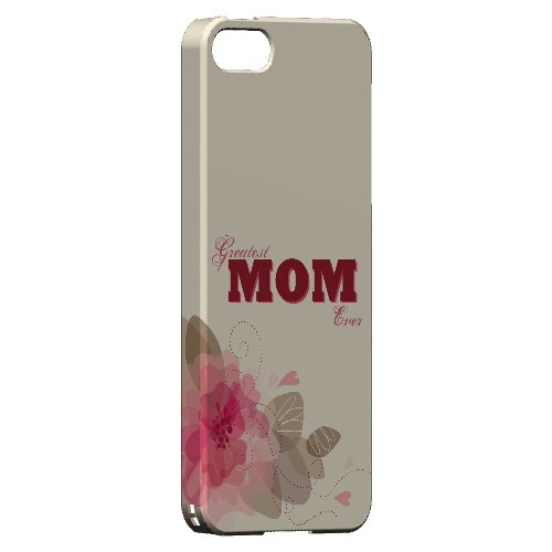 Greatest Mom Ever - Geeks Designer Line Mom Series Hard Case for Apple iPhone 5/5S