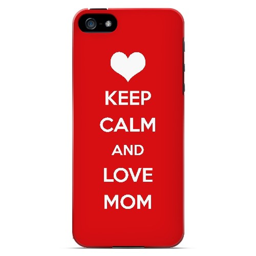 Love Mom - Geeks Designer Line Mom Series Hard Case for Apple iPhone 5/5S