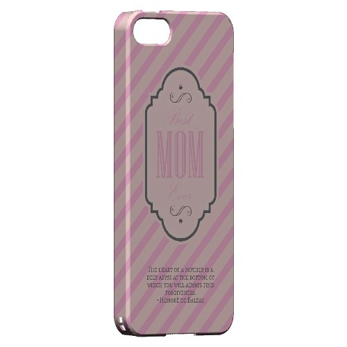 Mom Deep Abyss - Geeks Designer Line Mom Series Hard Case for Apple iPhone 5/5S