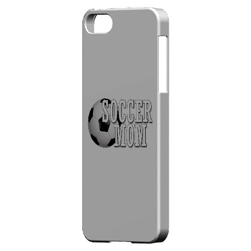 Soccer Mom - Geeks Designer Line Mom Series Hard Case for Apple iPhone 5/5S