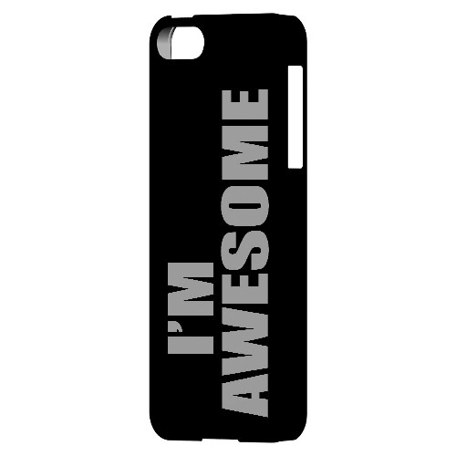 Awesome - Geeks Designer Line Humor Series Hard Case for Apple iPhone 5/5S