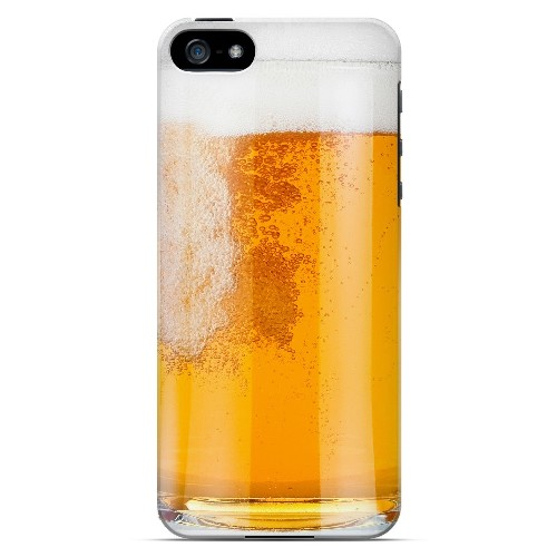 Beer Mug - Geeks Designer Line Humor Series Hard Case for Apple iPhone 5/5S