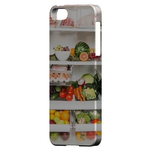 Refrigerator - Geeks Designer Line Humor Series Hard Case for Apple iPhone 5/5S