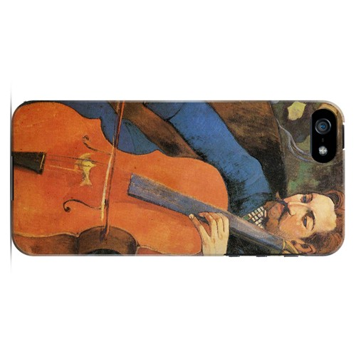 The Cellist by Paul Gauguin - Geeks Designer Line Artist Series Hard Case for Apple iPhone 5/5S