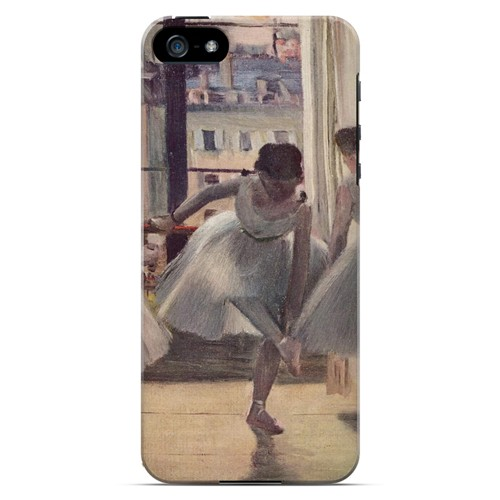 Three Dancers in an Exercise Hall by Edgar Degas - Geeks Designer Line Artist Series Hard Case for Apple iPhone 5/5S