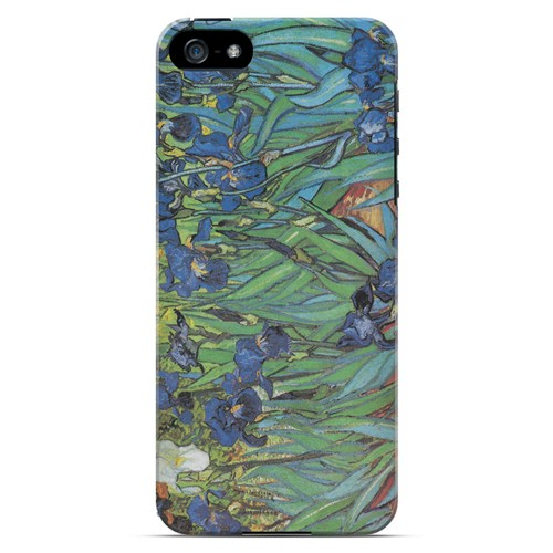Irises by Vincent van Gogh - Geeks Designer Line Artist Series Hard Case for Apple iPhone 5/5S
