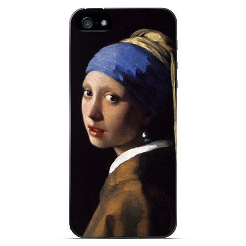 Girl with a Pearl Earring by Jan Vermeer - Geeks Designer Line Artist Series Hard Case for Apple iPhone 5/5S