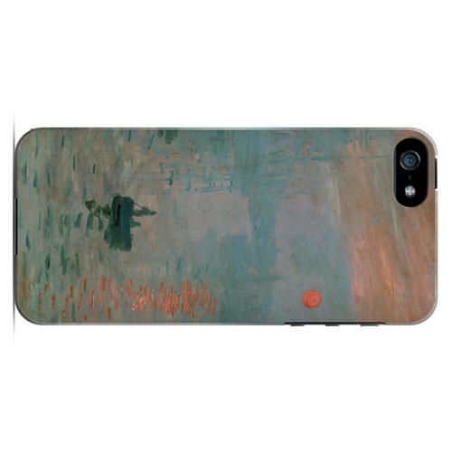 Impression Sunrise by Claude Monet - Geeks Designer Line Artist Series Hard Case for Apple iPhone 5/5S
