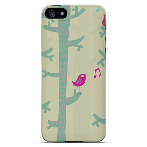 Spring Sing Forest - Geeks Designer Line Spring Series Hard Case for Apple iPhone 5/5S