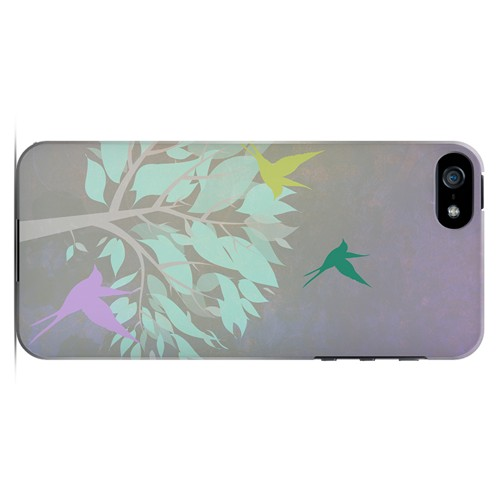 Swallow Flight - Geeks Designer Line Spring Series Hard Case for Apple iPhone 5/5S