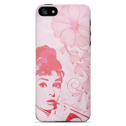 Enchanted - Geeks Designer Line Spring Series Hard Case for Apple iPhone 5/5S
