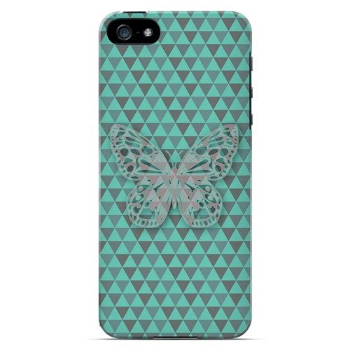 Butterfly Crypsis - Geeks Designer Line Spring Series Hard Case for Apple iPhone 5/5S