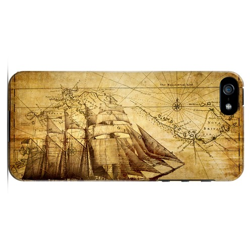 British Sea Power - Geeks Designer Line Map Series Hard Case for Apple iPhone 5/5S