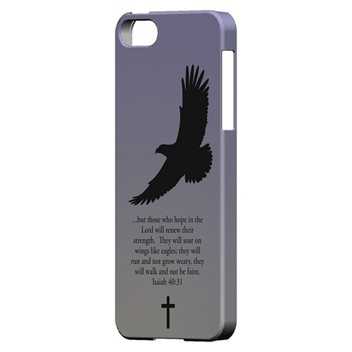 Isaiah 40:31 - Sleepy Grape - Geeks Designer Line Bible Series Hard Case for Apple iPhone 5/5S