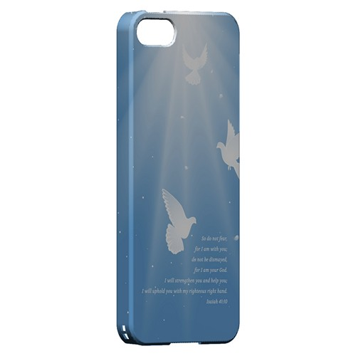 Isaiah 41:10 - Geeks Designer Line Bible Series Hard Case for Apple iPhone 5/5S