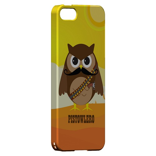 Pistowlero - Geeks Designer Line Owl Series Hard Case for Apple iPhone 5/5S